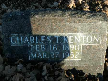 KENTON, CHARLES T. - Boone County, Arkansas | CHARLES T. KENTON - Arkansas Gravestone Photos