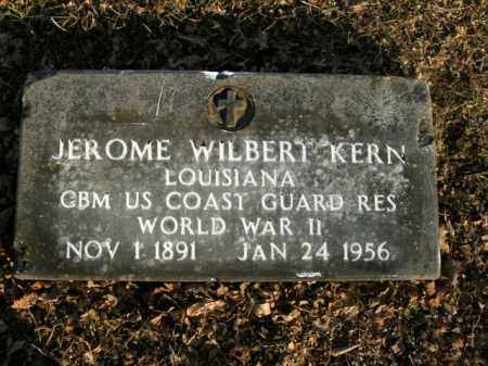 KERN  (VETERAN WWII), JEROME WILBERT - Boone County, Arkansas | JEROME WILBERT KERN  (VETERAN WWII) - Arkansas Gravestone Photos