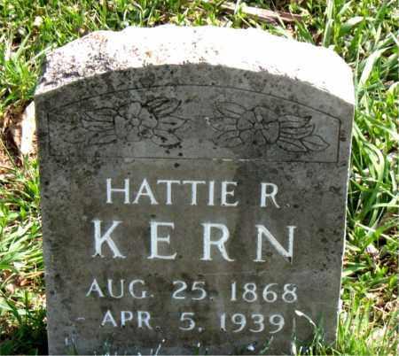 KERN, HATTIE  R. - Boone County, Arkansas | HATTIE  R. KERN - Arkansas Gravestone Photos