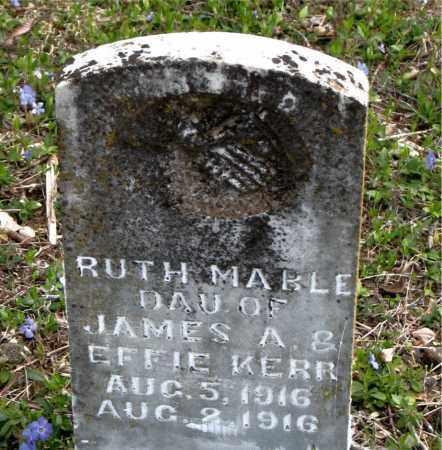 KERR, RUTH MABLE - Boone County, Arkansas | RUTH MABLE KERR - Arkansas Gravestone Photos