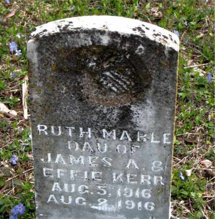 KERR, RUTH MABLE - Boone County, Arkansas | RUTH MABLE KERR - Arkansas Gravestone Photos