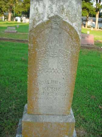 KERR, VERLINDA E. - Boone County, Arkansas | VERLINDA E. KERR - Arkansas Gravestone Photos