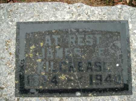 KILCREASE, JAMES E. - Boone County, Arkansas | JAMES E. KILCREASE - Arkansas Gravestone Photos
