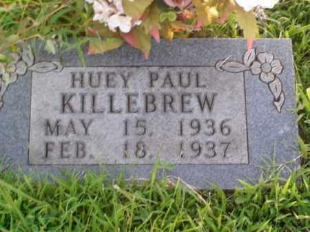 KILLEBREW, HUEY PAUL - Boone County, Arkansas   HUEY PAUL KILLEBREW - Arkansas Gravestone Photos