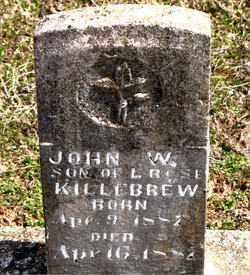 KILLEBREW, JOHN  W. - Boone County, Arkansas | JOHN  W. KILLEBREW - Arkansas Gravestone Photos