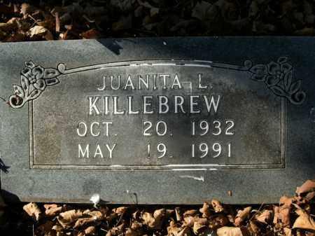 KILLEBREW, JUANITA L. - Boone County, Arkansas | JUANITA L. KILLEBREW - Arkansas Gravestone Photos