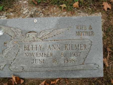 KILMER, BETTY ANN - Boone County, Arkansas | BETTY ANN KILMER - Arkansas Gravestone Photos