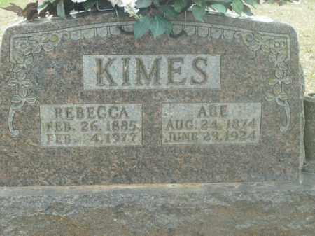 CLARK KIMES, REBECCA - Boone County, Arkansas | REBECCA CLARK KIMES - Arkansas Gravestone Photos