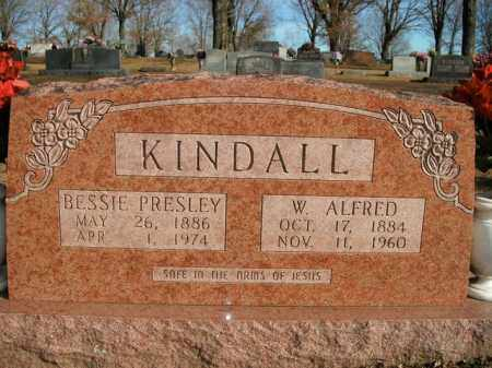 PRESLEY KINDALL, BESSIE - Boone County, Arkansas | BESSIE PRESLEY KINDALL - Arkansas Gravestone Photos