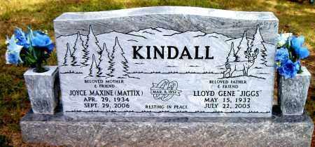 MATTIX KINDALL, JOYCE MAXINE - Boone County, Arkansas | JOYCE MAXINE MATTIX KINDALL - Arkansas Gravestone Photos