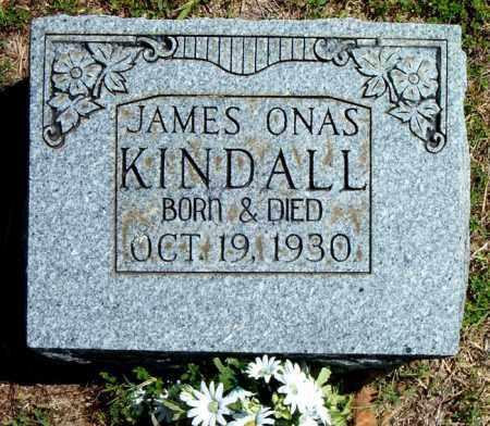 KINDALL, JAMES ONAS - Boone County, Arkansas | JAMES ONAS KINDALL - Arkansas Gravestone Photos