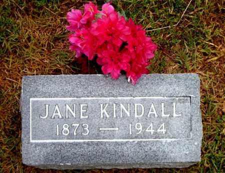 KINDALL, JANE - Boone County, Arkansas | JANE KINDALL - Arkansas Gravestone Photos