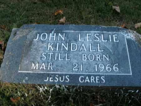 KINDALL, JOHN LESLIE - Boone County, Arkansas | JOHN LESLIE KINDALL - Arkansas Gravestone Photos