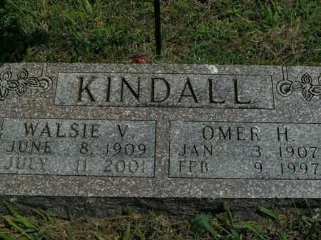 KINDALL, WALSIE V. - Boone County, Arkansas | WALSIE V. KINDALL - Arkansas Gravestone Photos