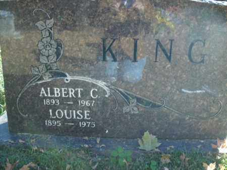 KING, ALBERT - Boone County, Arkansas | ALBERT KING - Arkansas Gravestone Photos