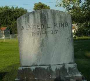 KING, ALFRED L. - Boone County, Arkansas | ALFRED L. KING - Arkansas Gravestone Photos