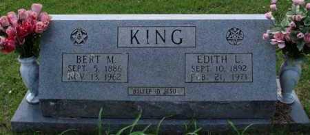 KING, EDITH L. - Boone County, Arkansas | EDITH L. KING - Arkansas Gravestone Photos