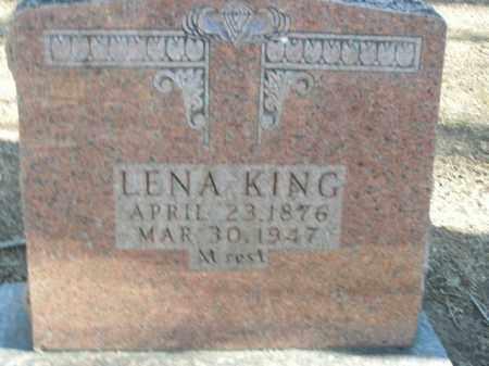 KING, LENA - Boone County, Arkansas   LENA KING - Arkansas Gravestone Photos