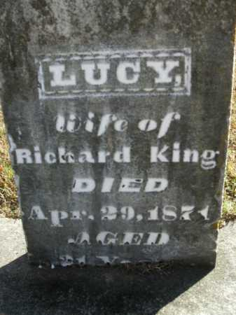 KING, LUCY - Boone County, Arkansas | LUCY KING - Arkansas Gravestone Photos