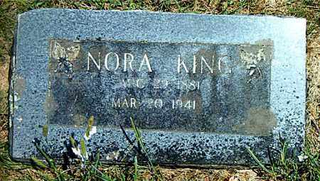 KING, NORA - Boone County, Arkansas | NORA KING - Arkansas Gravestone Photos