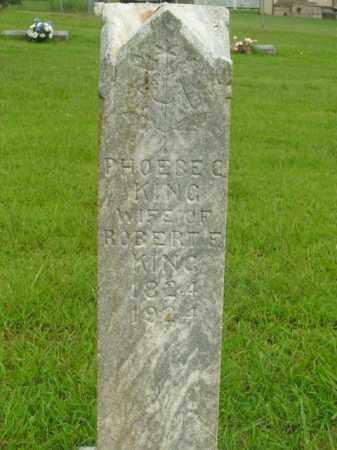 KING, PHOEBE C. - Boone County, Arkansas   PHOEBE C. KING - Arkansas Gravestone Photos