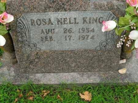 KING, ROSA NELL - Boone County, Arkansas   ROSA NELL KING - Arkansas Gravestone Photos