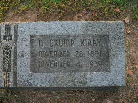 KIRBY, A. CRUMP - Boone County, Arkansas | A. CRUMP KIRBY - Arkansas Gravestone Photos