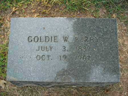 KIRBY, GOLDIE - Boone County, Arkansas | GOLDIE KIRBY - Arkansas Gravestone Photos