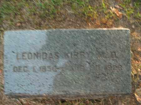 KIRBY, LEONIDAS  (DOCTOR) - Boone County, Arkansas | LEONIDAS  (DOCTOR) KIRBY - Arkansas Gravestone Photos