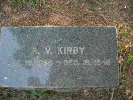 KIRBY, RHODA VIRGINIA - Boone County, Arkansas | RHODA VIRGINIA KIRBY - Arkansas Gravestone Photos