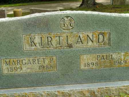 KIRTLAND, MARGARET P. - Boone County, Arkansas   MARGARET P. KIRTLAND - Arkansas Gravestone Photos