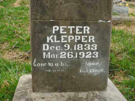 KLEPPER, PETER - Boone County, Arkansas | PETER KLEPPER - Arkansas Gravestone Photos
