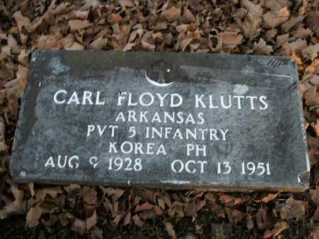 KLUTTS  (VETERAN KOR), CARL FLOYD - Boone County, Arkansas | CARL FLOYD KLUTTS  (VETERAN KOR) - Arkansas Gravestone Photos