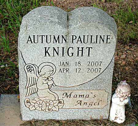 KNIGHT, AUTUMN PAULINE - Boone County, Arkansas | AUTUMN PAULINE KNIGHT - Arkansas Gravestone Photos