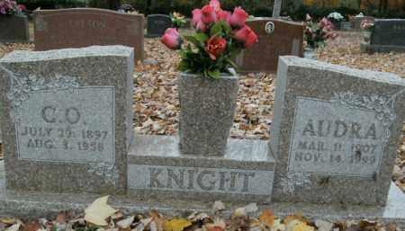 KNIGHT, AUDRA - Boone County, Arkansas | AUDRA KNIGHT - Arkansas Gravestone Photos