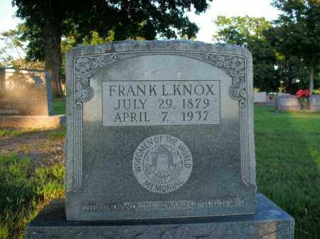 KNOX, FRANK L. - Boone County, Arkansas | FRANK L. KNOX - Arkansas Gravestone Photos