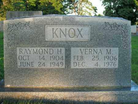 KNOX, VERNA M. - Boone County, Arkansas | VERNA M. KNOX - Arkansas Gravestone Photos