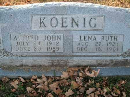 KOENIG, LENA RUTH - Boone County, Arkansas   LENA RUTH KOENIG - Arkansas Gravestone Photos