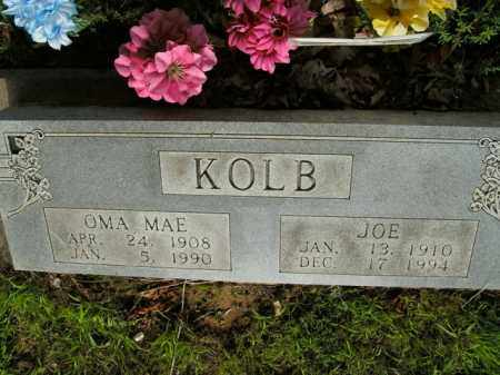 KOLB, OMA MAE - Boone County, Arkansas | OMA MAE KOLB - Arkansas Gravestone Photos