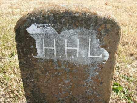 L., H.H. - Boone County, Arkansas | H.H. L. - Arkansas Gravestone Photos