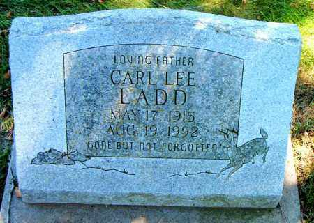 LADD, CARL LEE - Boone County, Arkansas | CARL LEE LADD - Arkansas Gravestone Photos