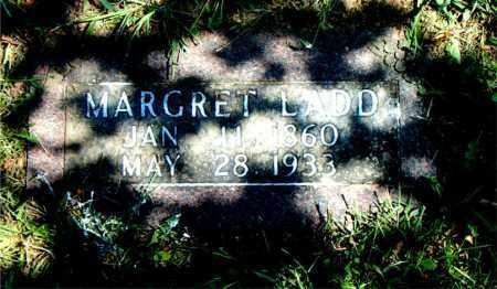 LADD, MARGRET - Boone County, Arkansas | MARGRET LADD - Arkansas Gravestone Photos