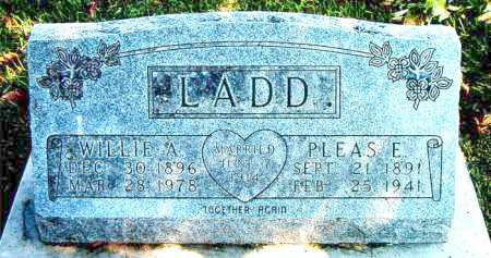 LADD, WILLIE  ANN - Boone County, Arkansas | WILLIE  ANN LADD - Arkansas Gravestone Photos
