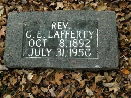 LAFFERTY, GASTON ERVIN (REV) - Boone County, Arkansas | GASTON ERVIN (REV) LAFFERTY - Arkansas Gravestone Photos