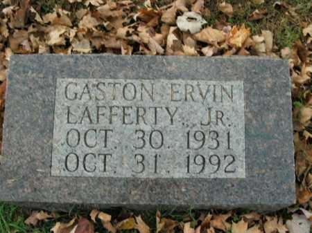 LAFFERTY, JR, GASTON ERVIN - Boone County, Arkansas | GASTON ERVIN LAFFERTY, JR - Arkansas Gravestone Photos