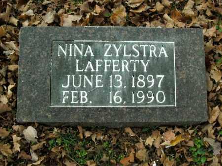 LAFFERTY, NINA - Boone County, Arkansas | NINA LAFFERTY - Arkansas Gravestone Photos