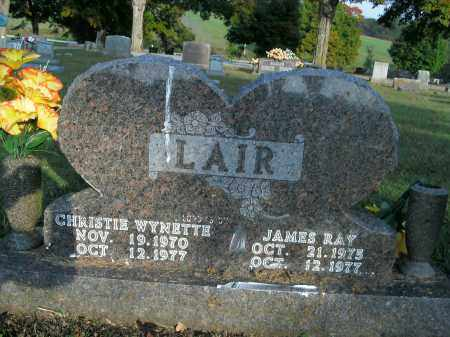 LAIR, JAMES RAY - Boone County, Arkansas   JAMES RAY LAIR - Arkansas Gravestone Photos