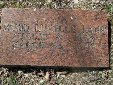 LAIR, ESSIE LUCILLE - Boone County, Arkansas | ESSIE LUCILLE LAIR - Arkansas Gravestone Photos