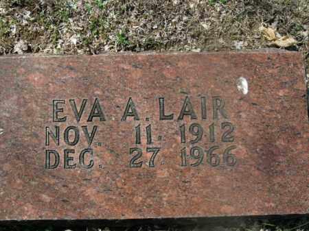 LAIR, EVA A. - Boone County, Arkansas | EVA A. LAIR - Arkansas Gravestone Photos