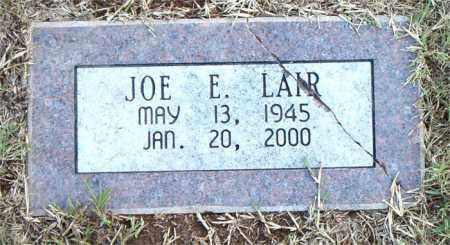 LAIR, JOE  E. - Boone County, Arkansas | JOE  E. LAIR - Arkansas Gravestone Photos